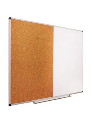 Доска комбинированная маркерная пробковая, 200х100 см