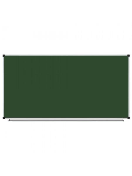 Школьная доска магнитная меловая 240х120 см