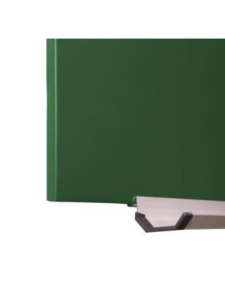 Школьная доска магнитная меловая без профиля 98х98 см