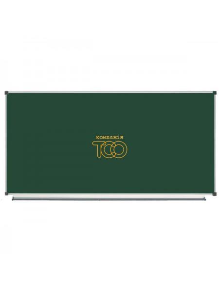 Школьная доска магнитная меловая металлокерамическая ОКСФОРД, 200х100 см