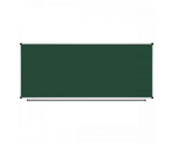 Школьная доска магнитная меловая металлокерамическая, 300х100 см