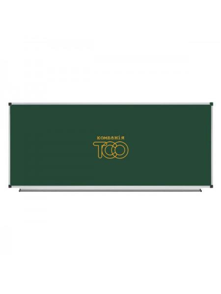 Школьная доска магнитная меловая металлокерамическая ОКСФОРД, 400х100 см