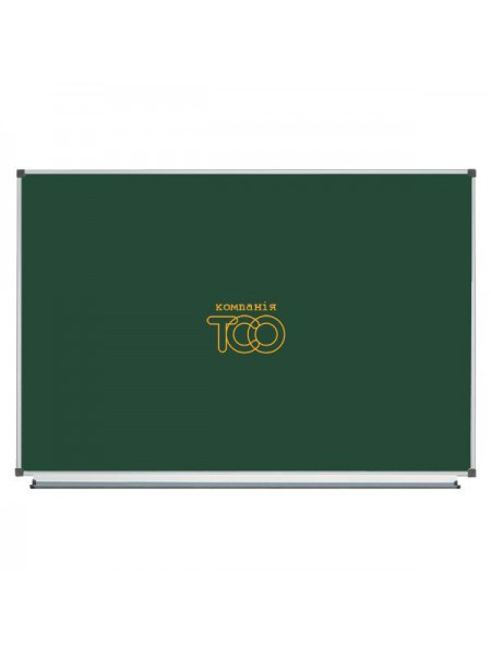 Школьная доска магнитная меловая металлокерамическая ОКСФОРД, 150х100 cм