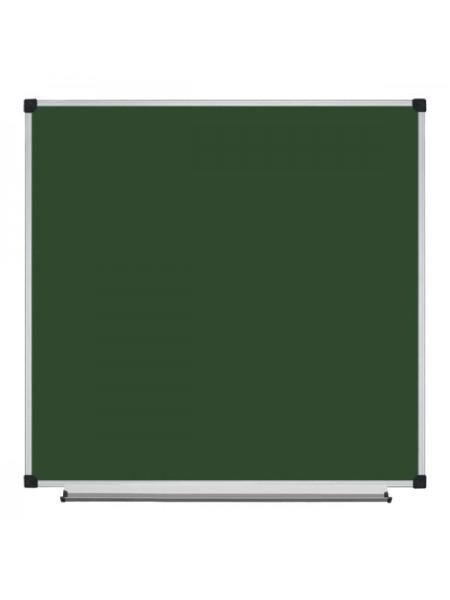 Школьная доска магнитная меловая металлокерамическая ОКСФОРД, 100х100 cм