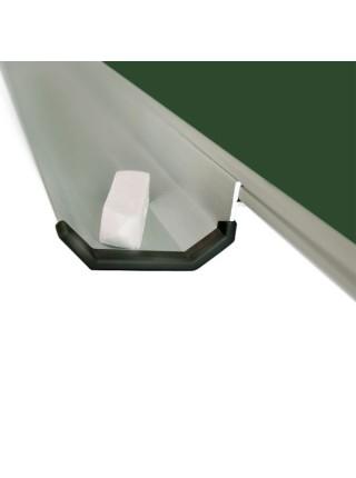 Школьная доска магнитная меловая 90х60 см