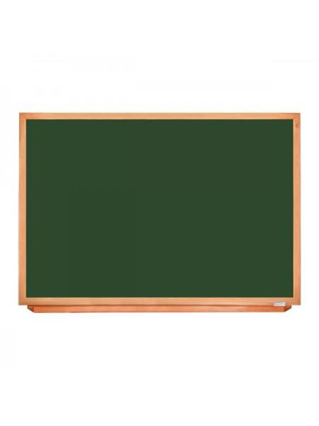 Школьная доска в деревянном профиле КЛАССИК, 830х1220 мм, Уценка №56