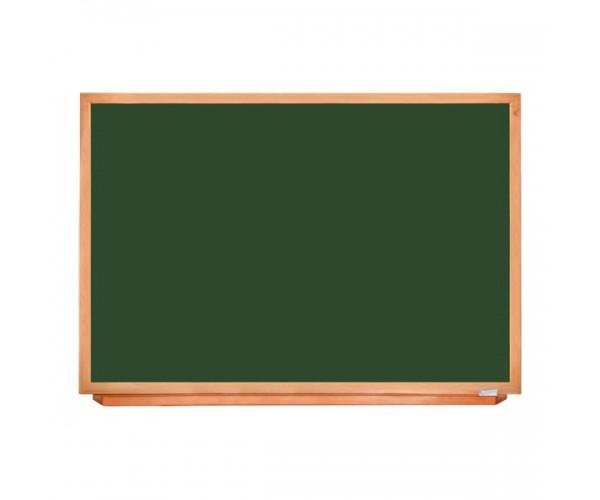 Школьная доска в деревянном профиле КЛАССИК, 150х100 см, УЦЕНКА №14