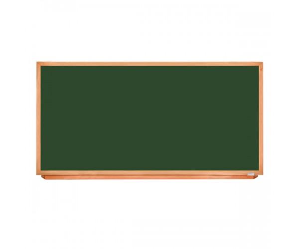 Школьная доска в деревянном профиле КЛАССИК, 200х100 см
