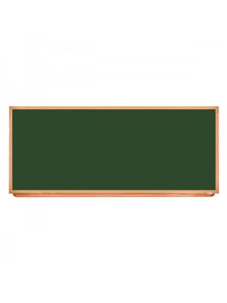 Школьная доска в деревянном профиле КЛАССИК, 240х100 см