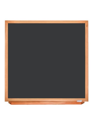 Wood-Mounted Blackboard