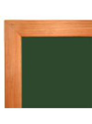 Школьная доска в деревянном профиле КЛАССИК, 200х120 см