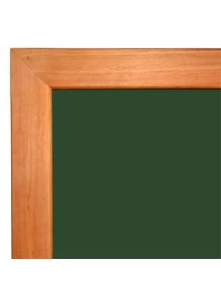 Школьная доска  в деревянном профиле КЛАССИК, 150х100 см