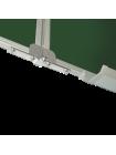 Школьная доска магнитная меловая, 3 пов., 225x120 cм