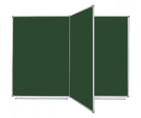 Школьная доска магнитная комбинированная, 4 пов., 150х100 cм