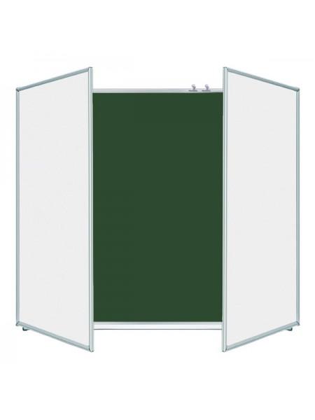 Школьная доска ЭРУДИТ меловая/маркерная/комбинированная, 300х120 cм