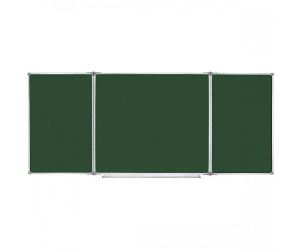 Magnetic Combined Classroom Board, 5 surfaces, 400х120 cm