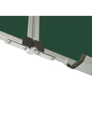 Школьная доска магнитная меловая металлокерамическая, 300х100 cм