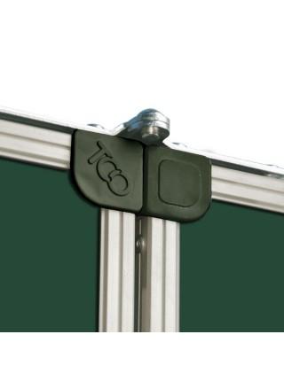 Школьная доска магнитная меловая металлокерамическая ОКСФОРД, 400х100 cм