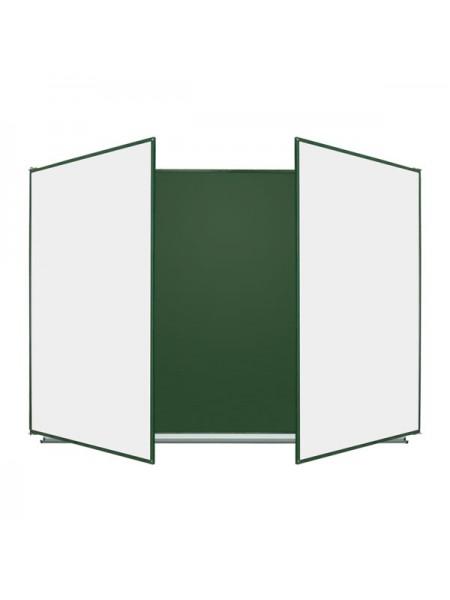 Школьная доска меловая/маркерная/комбинированная в металлополимерном профиле, 300х100 cм