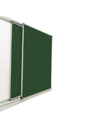 Раздвижная доска меловая/маркерная/комбинированная, 300х100 см