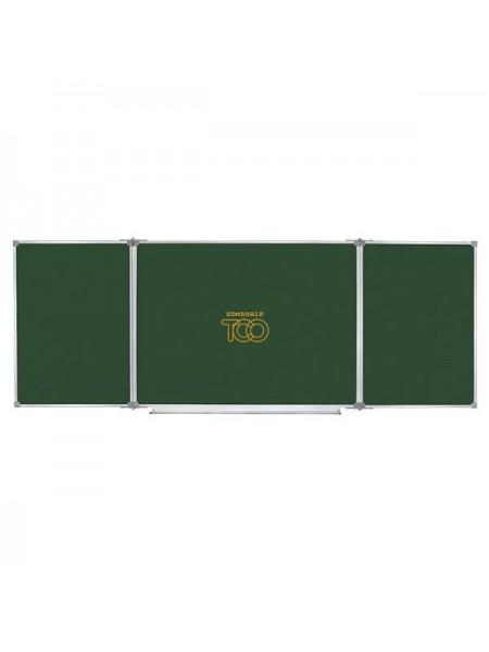 Школьная доска меловая/маркерная/комбинированная, 400х100 cм