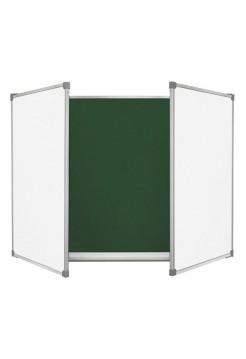 Школьная доска меловая/маркерная/комбинированная, 300х100 cм