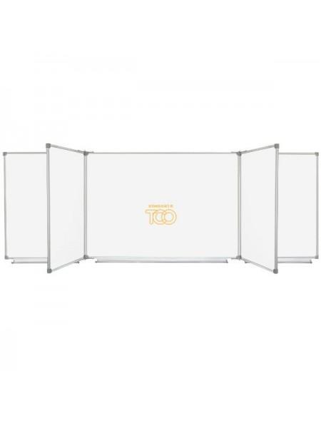 Школьная доска магнитная макерная, 7 пов., 400х100 см