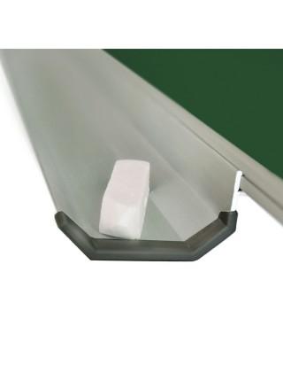 Школьная доска магнитная комбинированная, 7 пов., 400x100 см