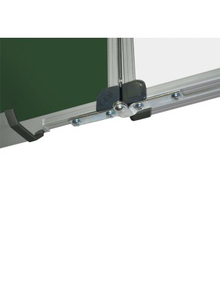 Школьная доска магнитная комбинированная, 7 пов., 300x100 см