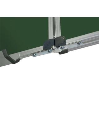 Школьная доска магнитная меловая, 7 пов., 400х120 см