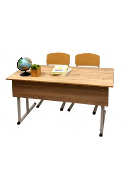 "School desk with chairs double ""Garant"""