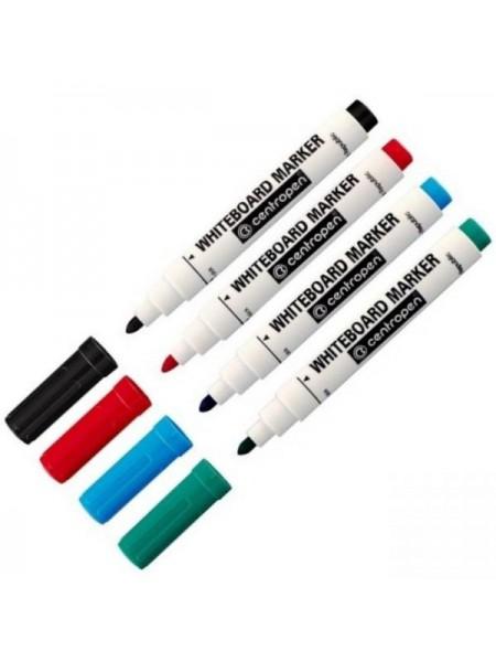Маркеры цветные Centropen, 4 шт
