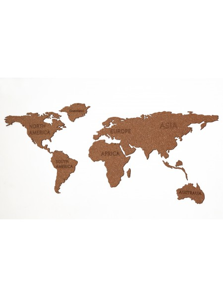 Cork World Map
