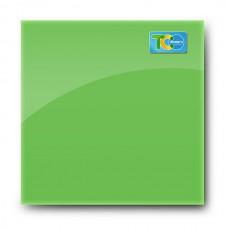 Стеклянная магнитно-маркерная доска (Зелёный цвет) 1000*1000мм