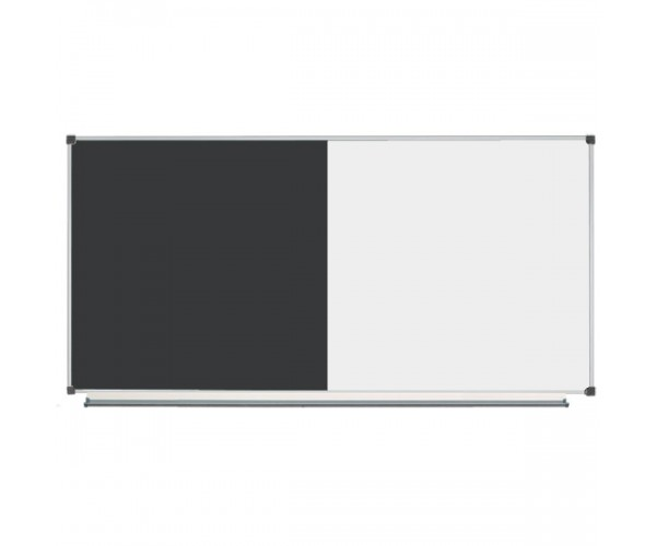 Combined Classroom Board 200x100 сm (with black surface)
