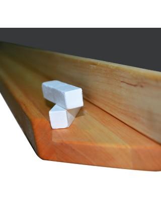 Classroom Wood-Mounted Board CLASSIC 100х100 сm