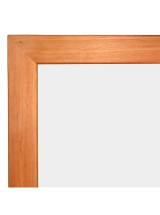Classroom Wood-Mounted Whiteboard CLASSIC 90x50 сm, SALE!