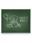 Magnetic Chalk Classroom Board, 1500х1200 mm