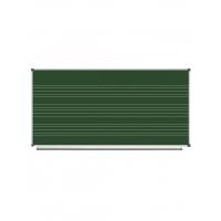 Magnetic Chalk Classroom Board  Music Staff, 200х100 сm