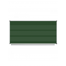 Magnetic Chalk Classroom Board  Music Staff, 200х100 сm