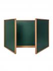 Classroom Wood-Mounted Board CLASSIC 300х120 сm
