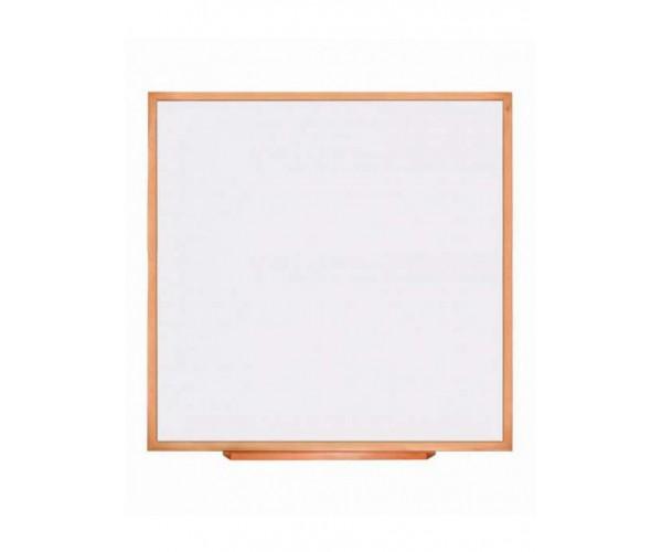 Classroom Wood-Mounted Whiteboard CLASSIC 100x100 сm