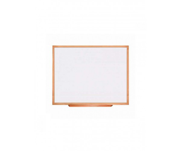 Magnetic marker board in wooden profile 45x60 cm