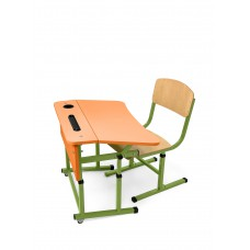 Student single set for NUSH (orange)