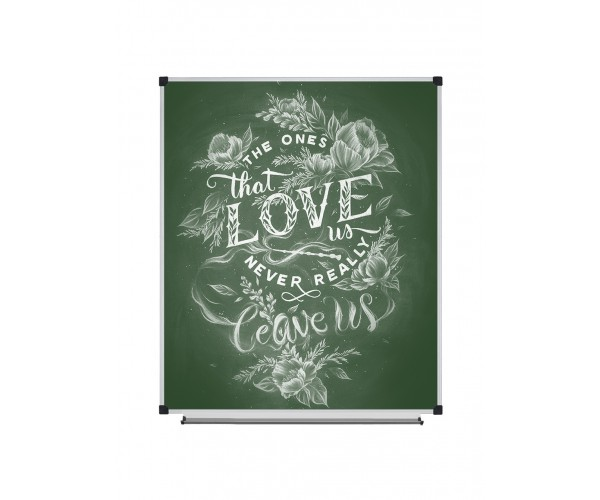 Magnetic Chalk Classroom Board, 1000х1200 mm