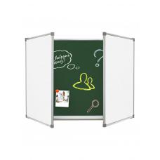 Magnetic Chalk Combined Classroom Board 400х100 cm
