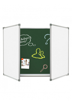 Magnetic Chalk Combined Classroom Board 400х100 cm