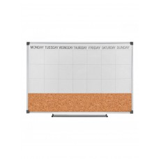 Magnetic marker board schedule, 60х40 cm
