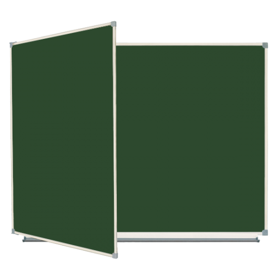 Magnetic Chalk Classroom Board 225x100 cm