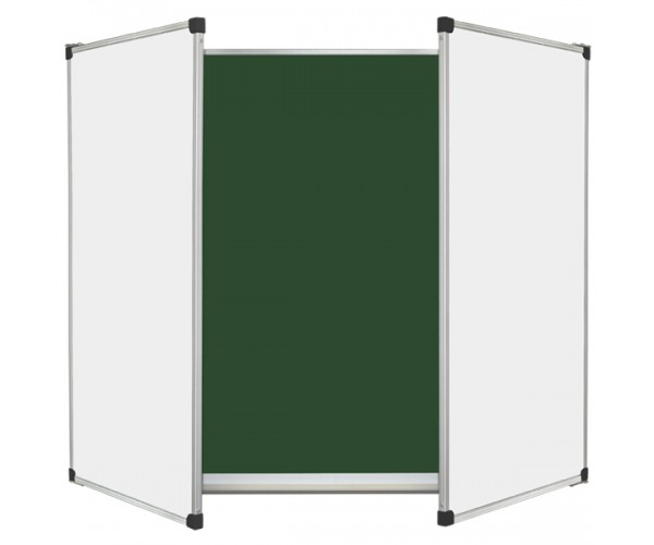 Magnetic Combined Classroom Board, 5 surfaces, 300х120 cm